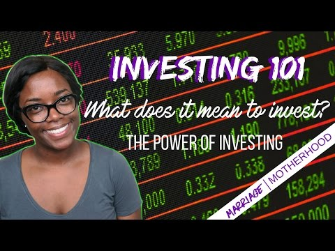 💸What does it mean to Invest? | Investing 101💰