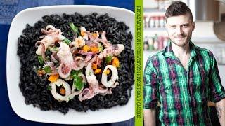 Домашние Испанские рецепты -  ризотто с морепродуктами  (видео рецепты, шеф-повар Константин Жук)