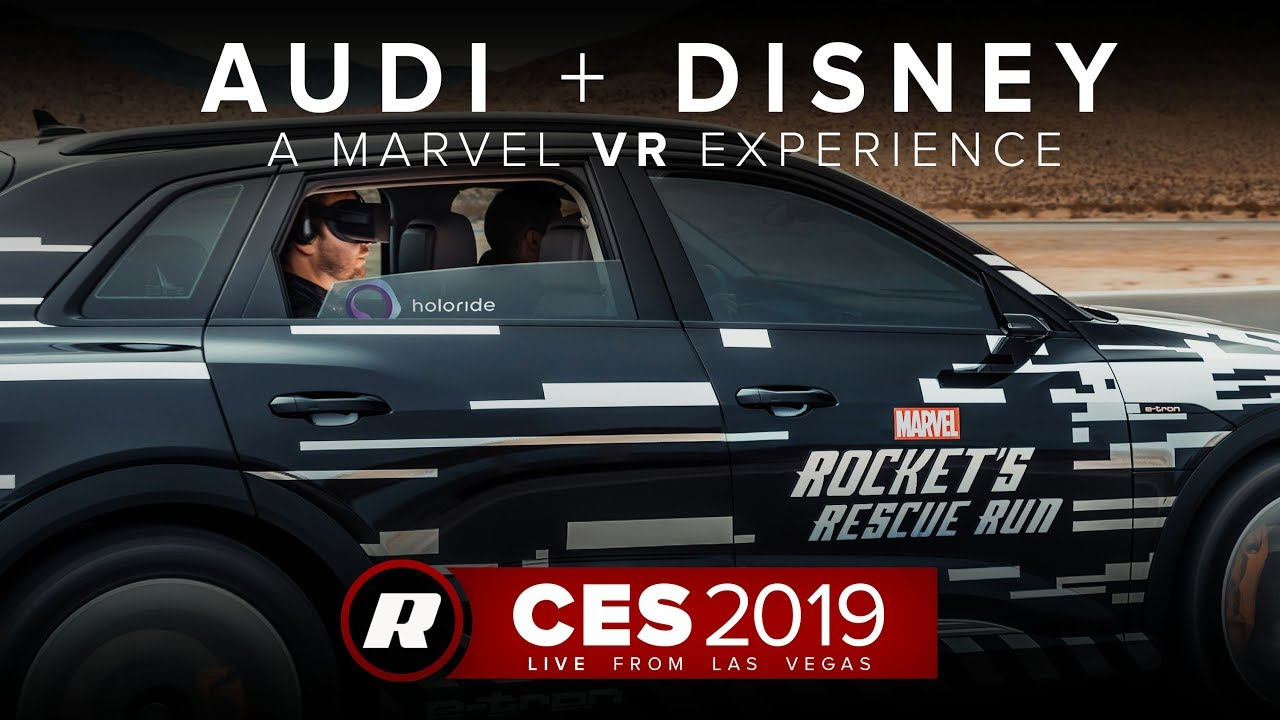 CES 2019: Audi, Disney's VR experience brings Marvel content to life | Holoride Rocket's Rescue Run