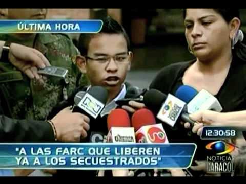 Johan Steven Martínez habla del asesinato de su papá por parte de las Farc