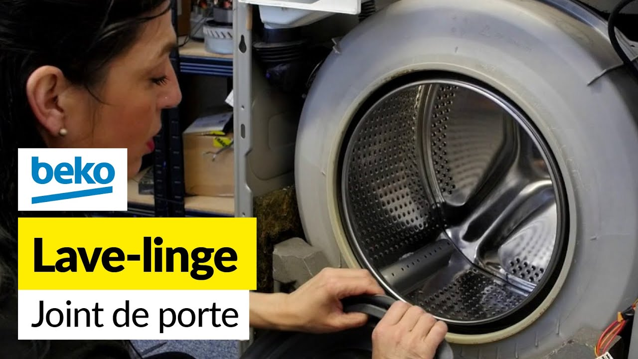Comment changer le joint d 39 une machine laver beko youtube - Demenager une machine a laver ...