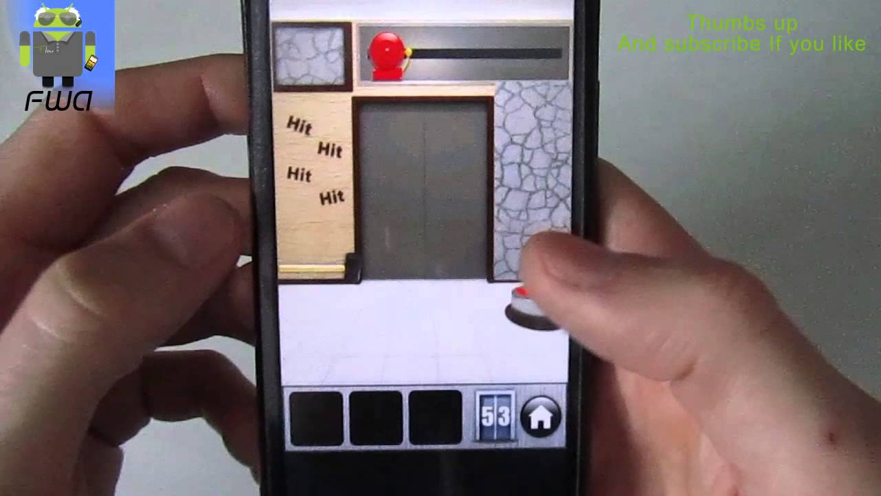 100 Doors Of Revenge Level 53 Solution Explanation Android Youtube