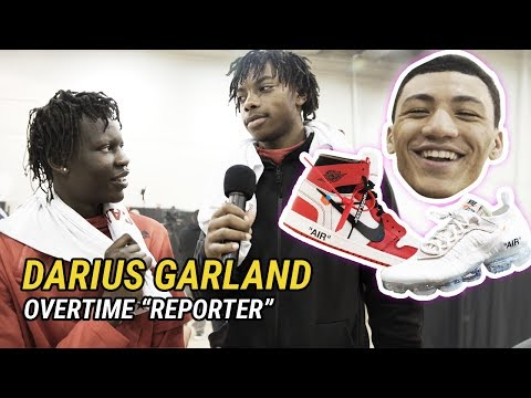 """How Many Girlfriends Do You Have?"" Darius Garland Has NO CHILL With McDonald's All American 😂"