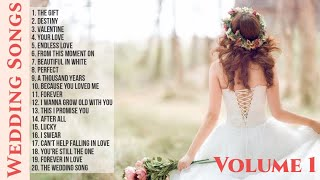 Wedding Songs Vol. 1  Collection  Non-Stop Playlist