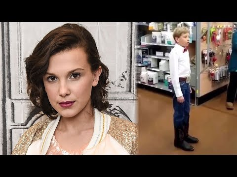 "Millie Bobby Brown BREAKS The Internet With Epic Dance To ""Walmart Boy"""