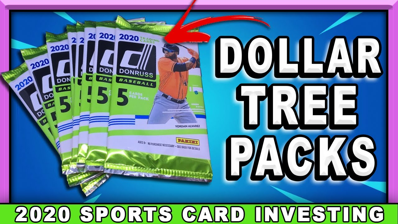 SPORTS CARD PACK OPENING! Can We Pull Hits From Dollar Tree?