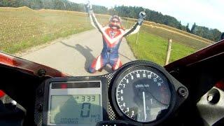 100.000 km - Honda CBR600F PC35