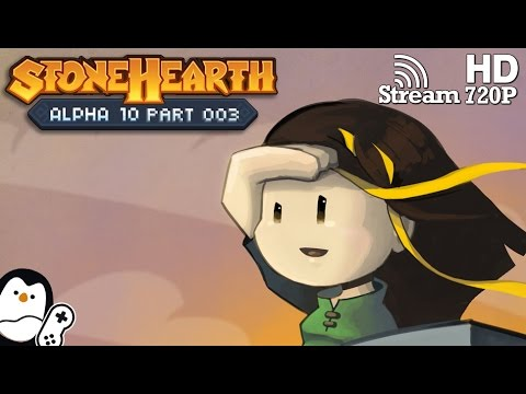Stonehearth Alpha 10 #03 - Sie kamen Nachts [German] Short Let's Play [Gameplay]