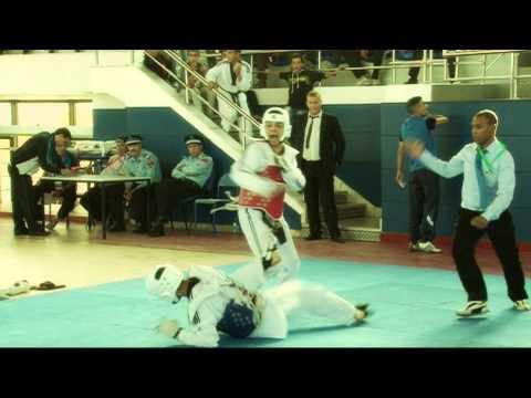 1er Tournoi International de taekwondo - Oujda -