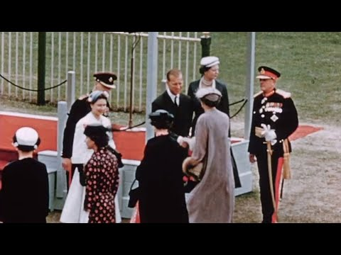 Welcome to the Queen (1956) | BFI National Archive