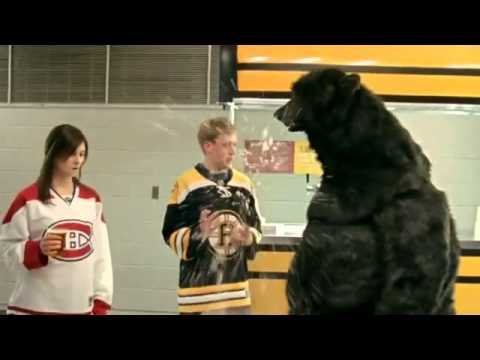 Hockey dating commercial