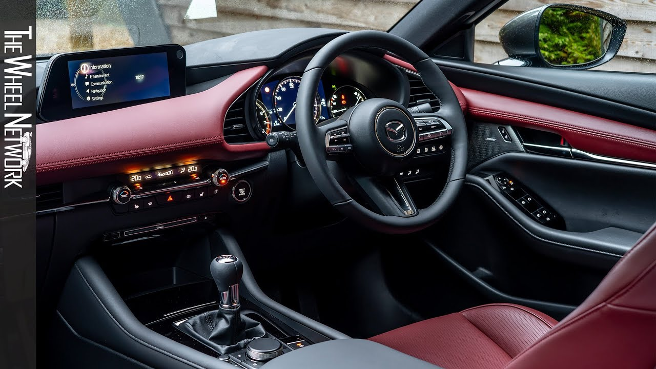 2020 Mazda 3 Skyactiv X Hatchback Interior Gt Sport Tech Uk