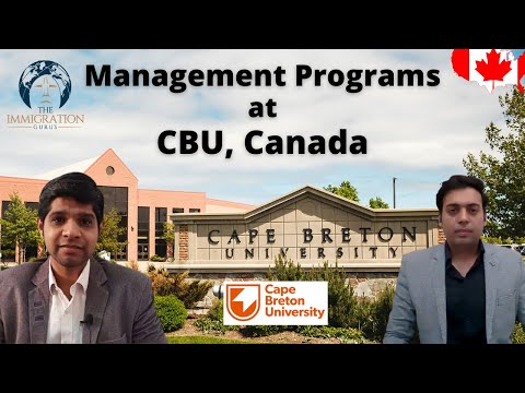 Why Cape Breton University, Nova Scotia, Canada   Best Management Programs at CBU, Canada   CBU Fees