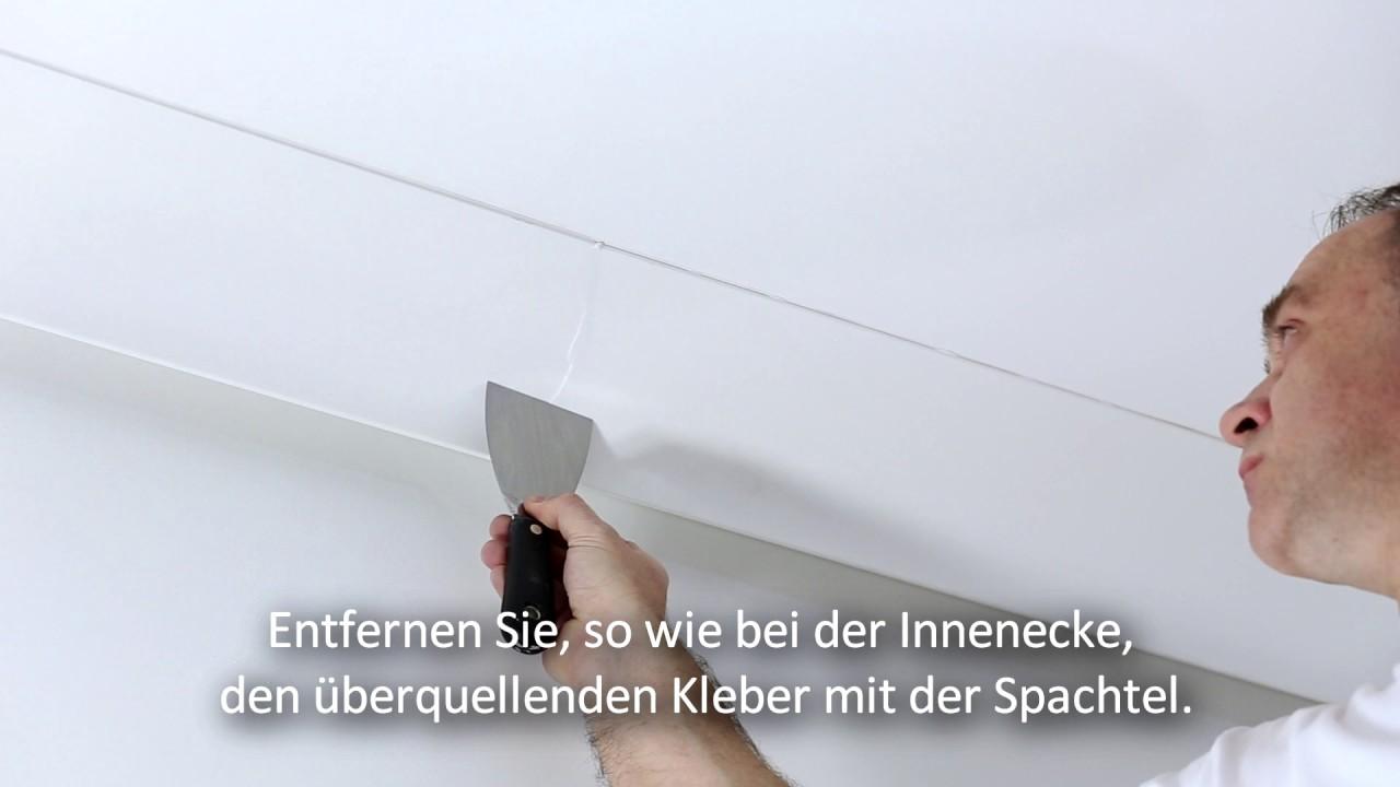MONTAGE DER LICHTLEISTEN [DE] - Mardom Decor - YouTube