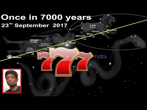 9/23/2017 & The Turn of the Great Cosmic Wheel & Great Mother The Celestial Sabbath 777
