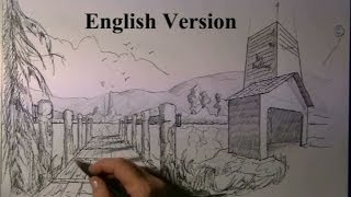 Drawing 1 - 2 and three point Perspective - very easy for beginners