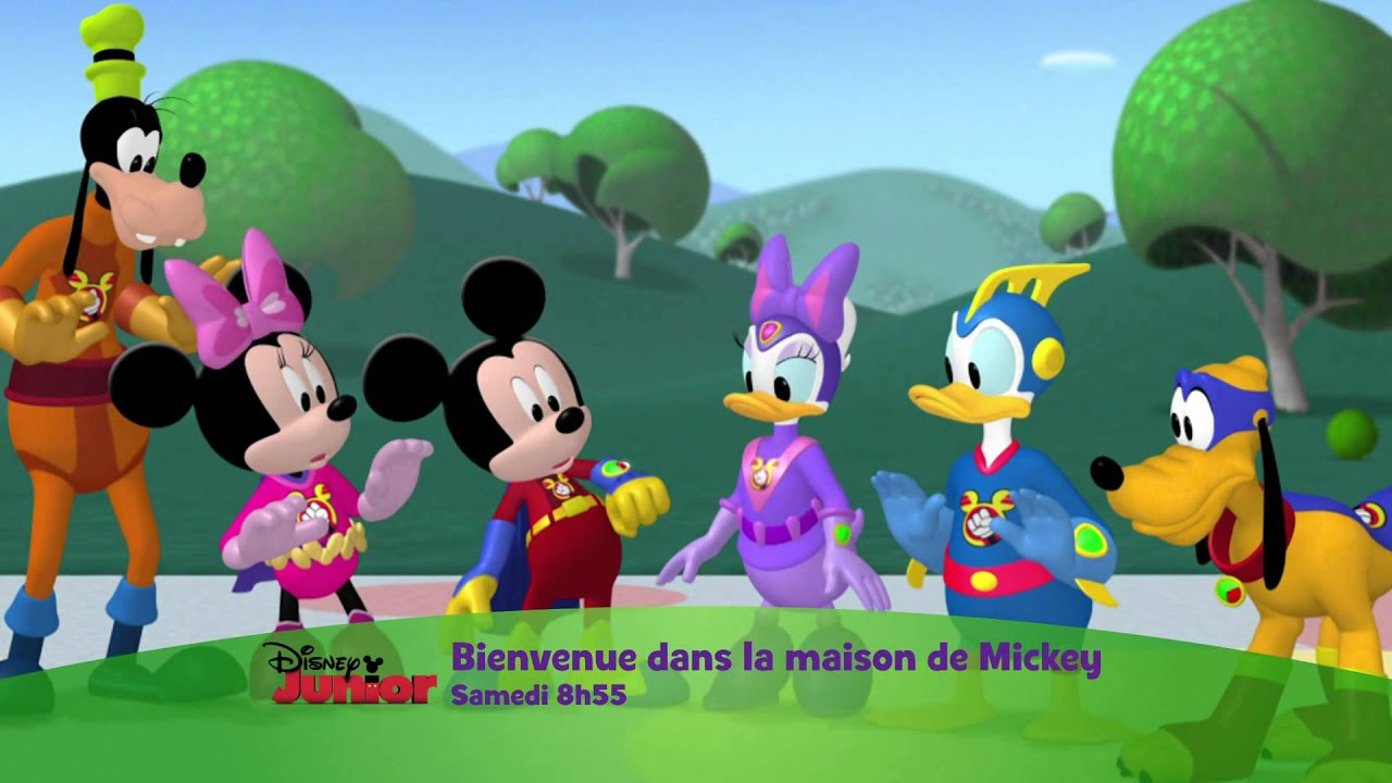 bienvenue dans la maison de mickey samedi 16 novembre partir de 8h55 sur disney junior. Black Bedroom Furniture Sets. Home Design Ideas