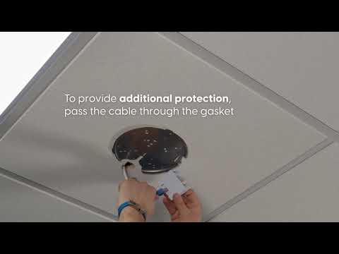 Как установить точку доступа UniFi на потолок