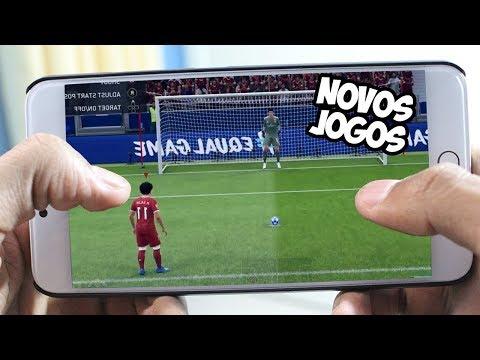 Os 25 Melhores Jogos de FUTEBOL para Android 2018