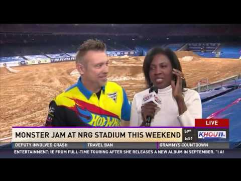Monster Jam at NRG Stadium in Houston this weekend