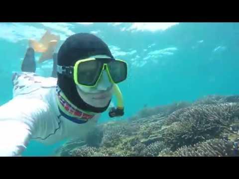 Snorkeling in Dongji, Penghu