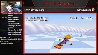 FFVII - Secret Snowboarding Ghost