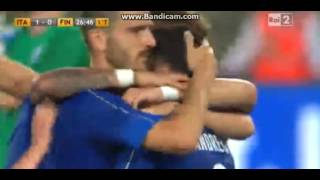 Italy vs Finland 1-0 - Goal Candreva Friendly match 2016