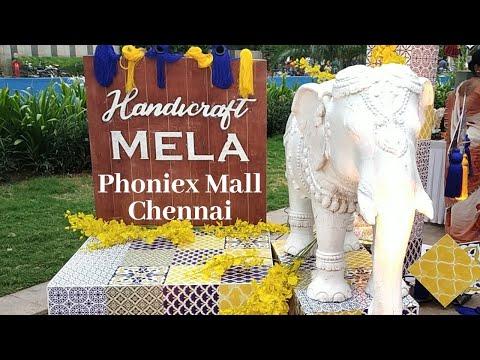 Handicraft Mela | Grand Exhibition cum Sale in Phoniex Mall Chennai | Arts&Crafts Exhibition | sale