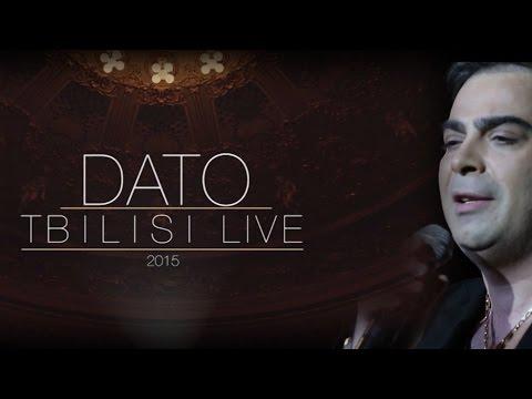 დათო ხუჯაძე - Dato Tbilisi Live 2015