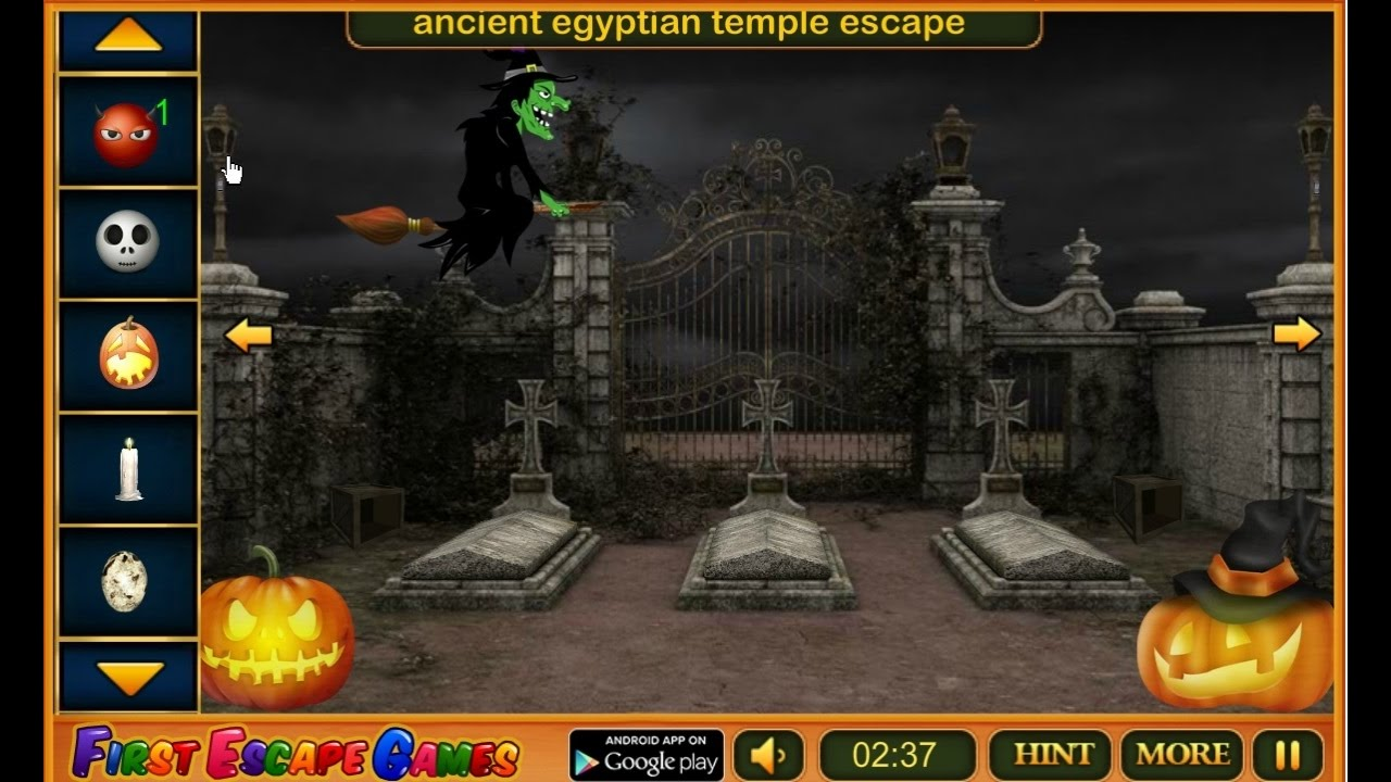 Escape Game Halloween Cemetery Walkthrough Feg Youtube