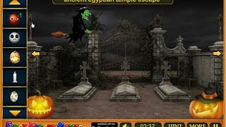 Escape Game Halloween Cemetery Walkthrough Feg.