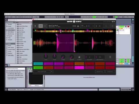 Setting cue points and triggering pads in Serato Sample