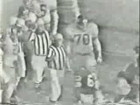 1961 NFL CHAMPIONSHIP GREEN BAY PACKERS vs NEW YORK GIANTS CBC CANADA TAPE