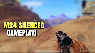 M24 Silenced Action | PUBG Mobile | Epic Ending!