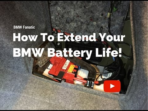 BMW 335i Battery Life And Registration!