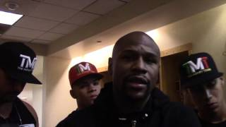 FLOYD MAYWEATHER TALKS HIS RIO OLYMPICS SCOUTING MISSION, LIKES FIGHTERS FROM CUBA, KAZAKHSTAN