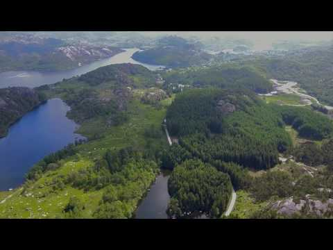 Ege ved Egersund - Mavic drone