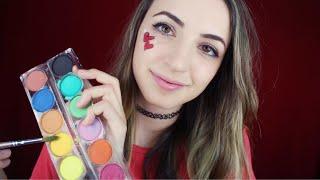[ASMR] Painting Your Face! (Soft Spoken) thumbnail