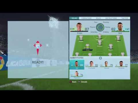 Jamie Vardy!the new hero fifa16 real madrid career mode
