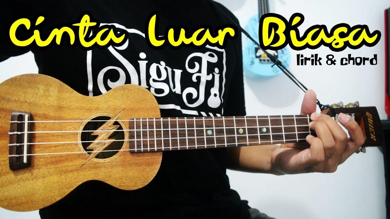 Chord gitar andmesh cinta luar biasa nada dasar