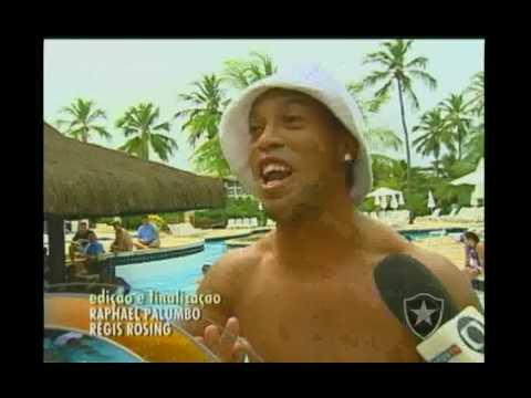 Ronaldinho Gaucho - Canta: Vou Festejar