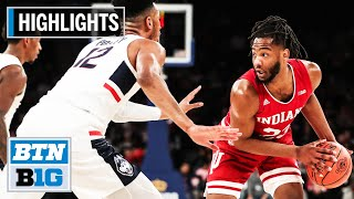 Highlights: Indiana Holds on to Beat UConn | Indiana vs. UConn | Dec. 10, 2019