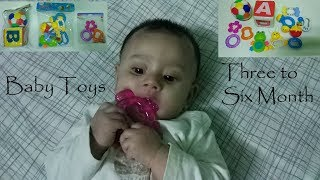 Toys for your baby /3 -6 month baby essentials/ Baby toys review