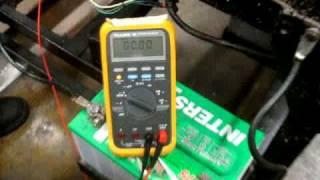voltage drop starting circuit