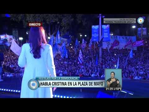 Visión 7 - Cristina a la militancia: