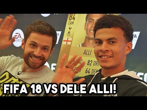 PLAYING FIFA 18 VS DELE ALLI!