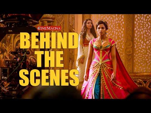 The Making Of Aladdin Behind The Scenes: Will Smith, Naomi Scott, Mena