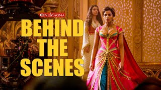 The Making Of Aladdin Behind The Scenes: Will Smith, Naomi Scott, Mena