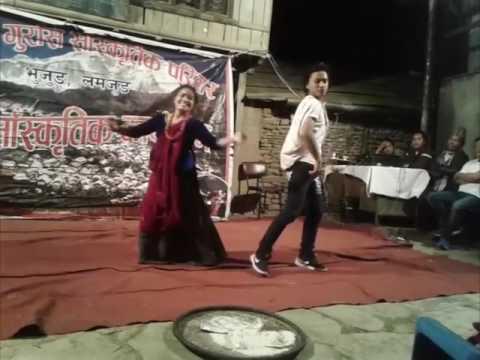 Ta Dhole Parabha Cover Dance || Kamal & Pabitra Gurung