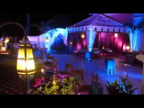 Casablanca Casino Themed Birthday Party by Alibaba Events at The Venetian Golf and River Club House